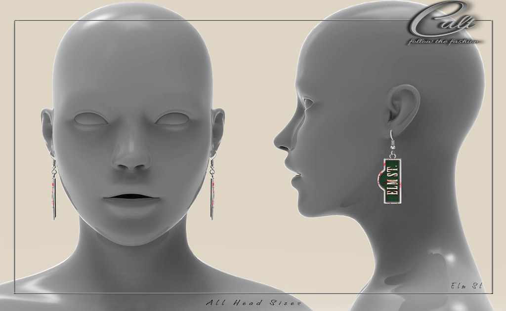 : CULT : Elm St. Earrings