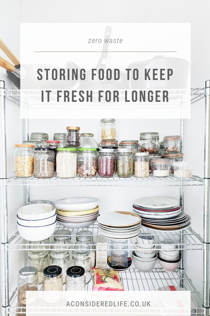 Food Storage: Keeping Produce Fresh For Longer