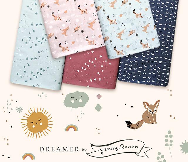 Birch Fabrics Dreamer Collection by Jenny Ronen