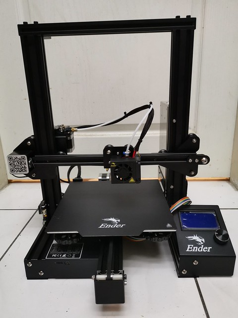Creality Ender 3x 3D印表機 簡單開箱與組裝