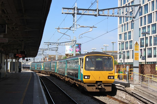 Cardiff Central 22/4/20