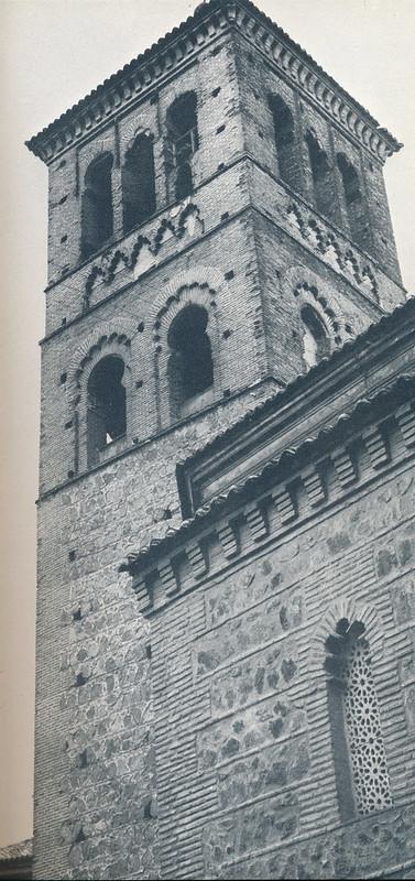 Torre de San Román en Toledo hacia 1970. Fotografía de Mario Carrieri.