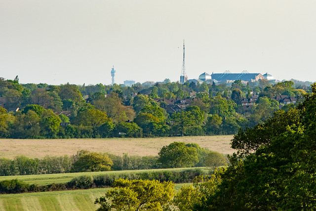 Ally Pally and the BT Tower