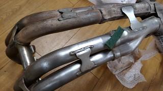 GSX-R1100W MY1995 genuine exhaust pipe