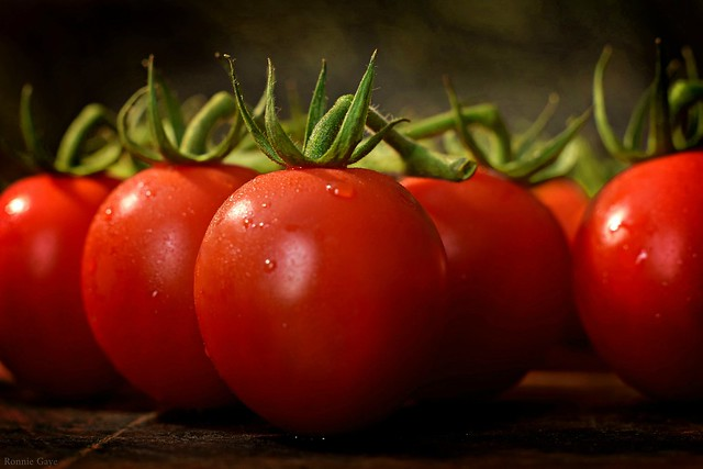 Always photograph your perfect tomatoes before you eat them