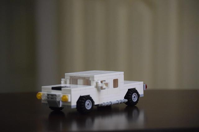 Hummer H1 Version 3 Moc.