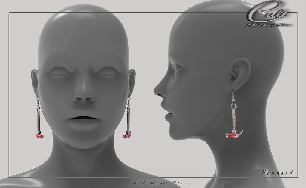 : CULT : Hammerd Earrings
