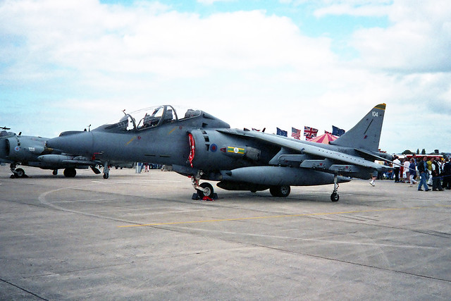 Harrier T10 ZH656 104 3 Sqn RAF