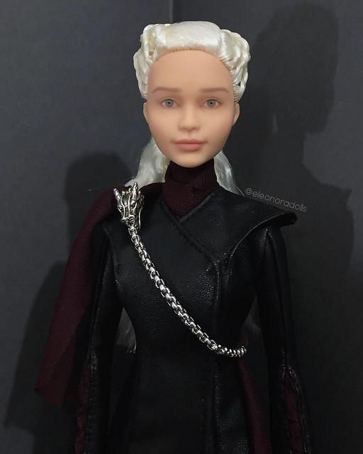 Daenerys Targaryen custom Barbie doll repaint OOAK