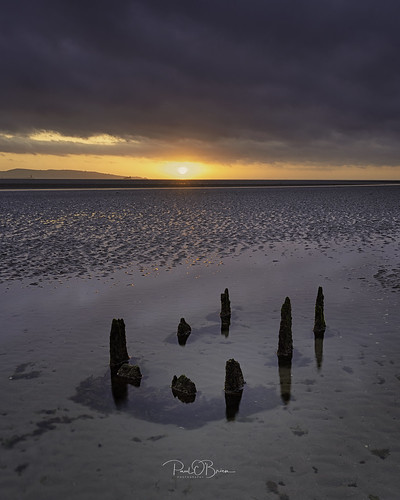 sandymount offshootps paulobrien water sunrise dawn beach dublin ireland