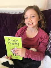 Tue, 04/21/2020 - 16:51 - It's Amélie Pumpalot. A fantastic photo for the pose album! Many thanks to @marcdelaunay. Rumour has it in Wiffyville this is the second photo of Amélie with the original book. We'll ask Guffy to have a look in the castle archives. #Fart2020
