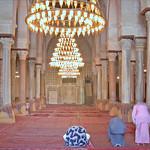 La salle de prière de la mosquée de Sidi Okba (Kairouan, Tunisie)