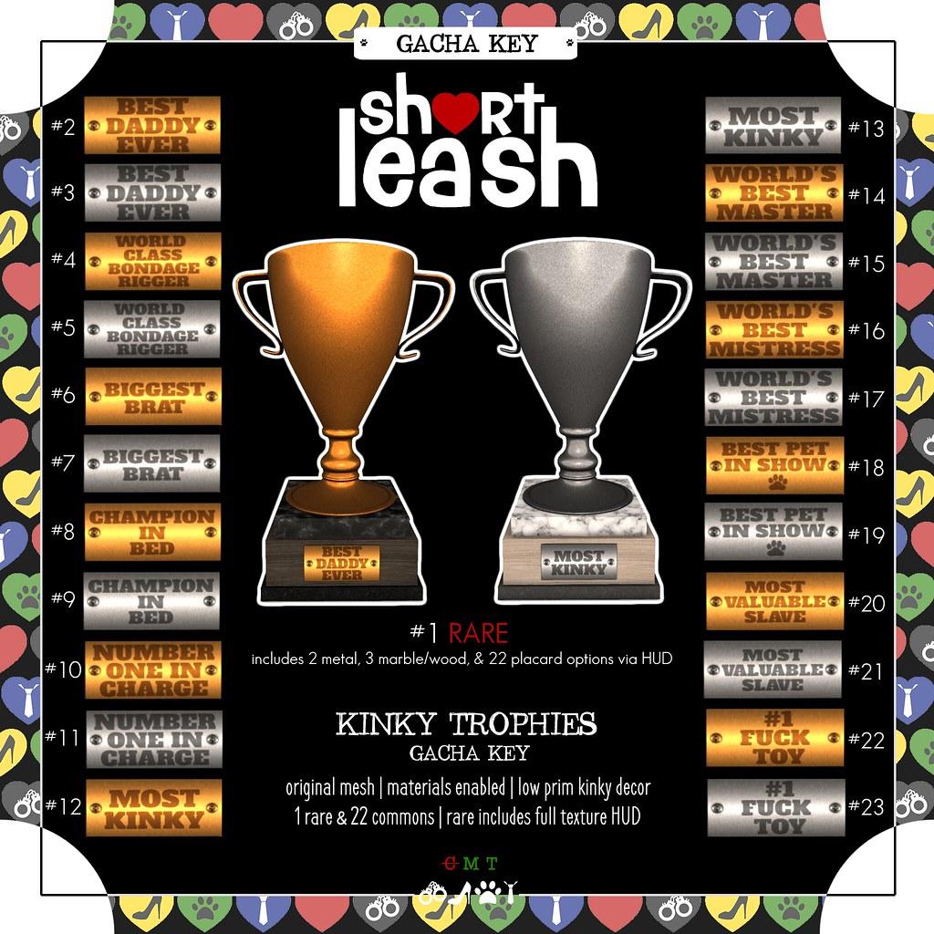 .:Short Leash:. Kinky Trophies Gacha
