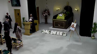 Mike Adjei funeral