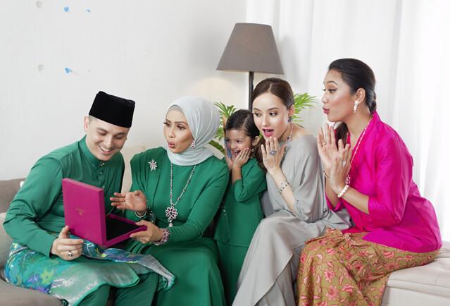Koleksi Rantaian Kasih 2020 Habib Gemerlapkan Sinar Aidilfitri