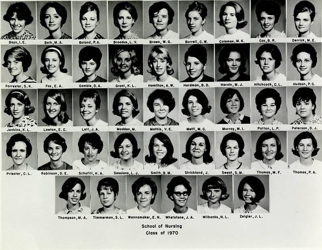 MUSC Golden Graduates Class of 1970 Photos