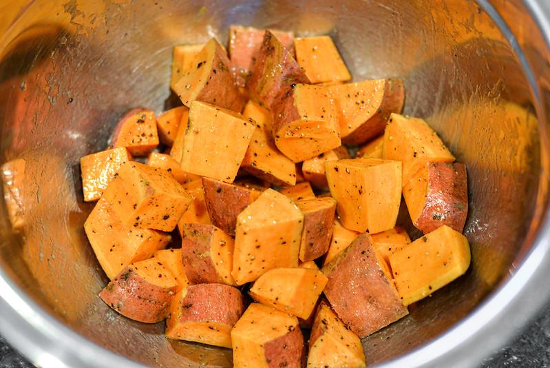 Chili-spiced Chicken & Sweet Potato Tostadas