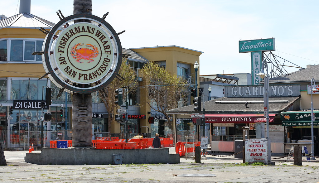 The Fishermans Wharf of San Francisco