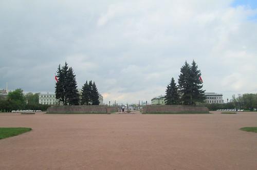 Eternal Flame Enclosure, Field of Mars, St Petersburg