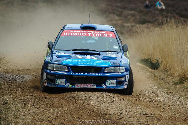 Cookson / Wilkinson - Subaru Impreza WRC - Rallye Sunseeker 2008