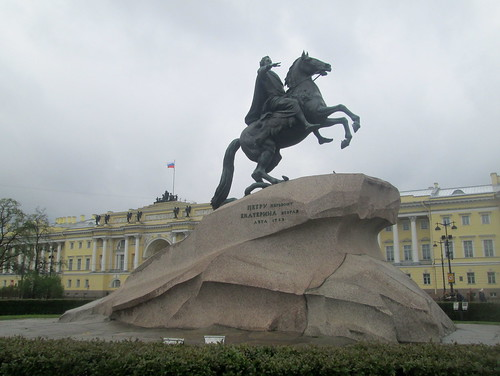 Right Profile, Bronze Horseman, St Petersburg