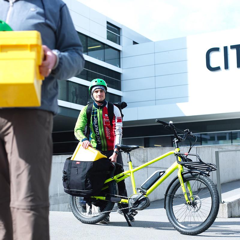 Benno Bikes Boost E cargo ebike in Zurich 19
