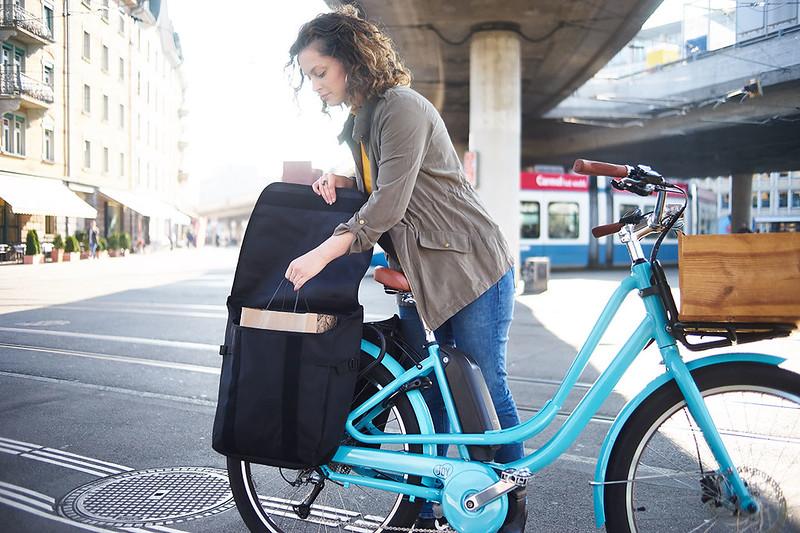 Benno Bikes eJoy cargo ebike in Zurich  12