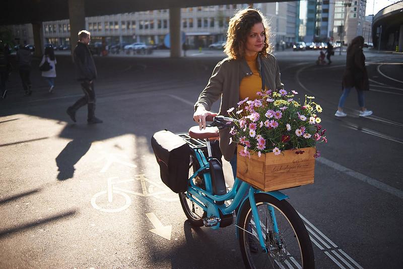 Benno Bikes eJoy cargo ebike in Zurich  10