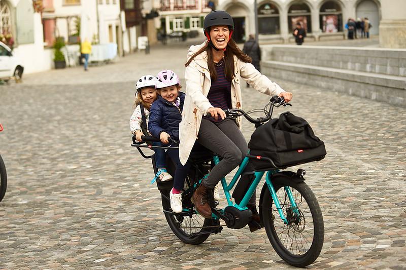 Benno Bikes Boost E cargo ebike in Zurich 05