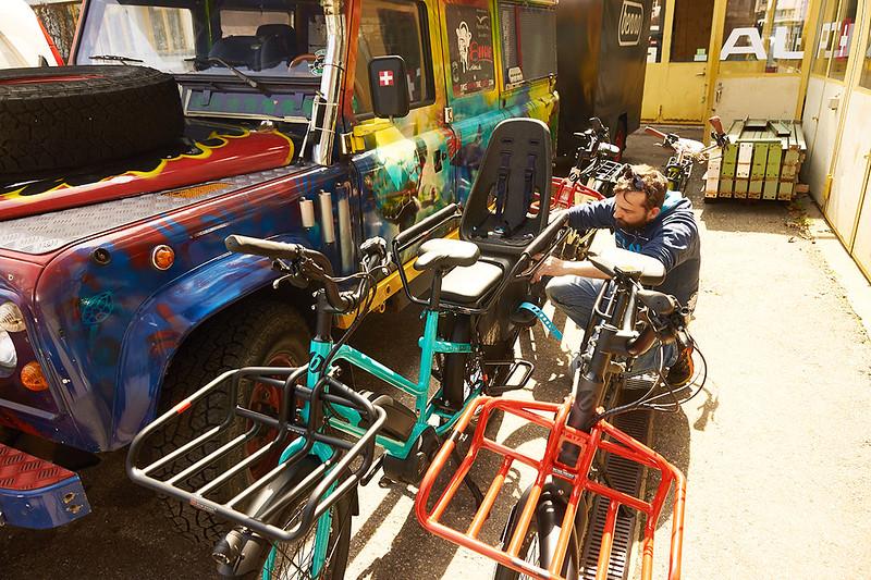 Benno Bikes ebikes in Zurich 04
