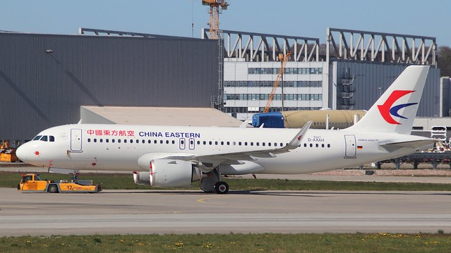 China Eastern Airlines, D-AXAH, Reg. B-30CY, MSN 9261, Airbus A 320-251N, 21.04.2020,  XFW-EDHI, Hamburg Finkenwerder