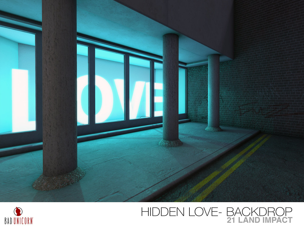 NEW! Neon Nights – Hidden Love Backdrop