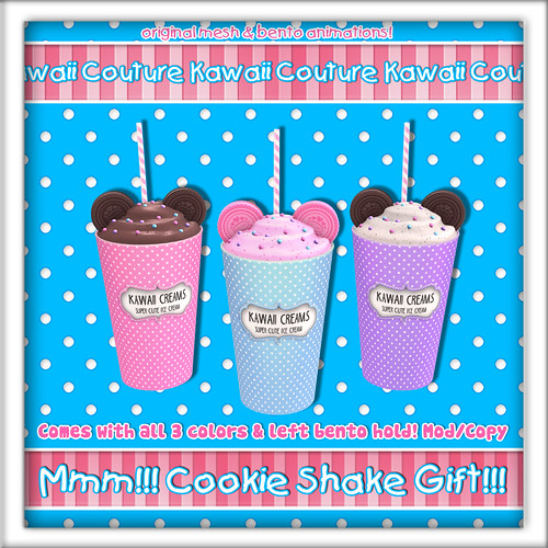 Kawaii Couture - Cookie Shake Gift Ad