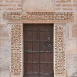 La porte du minaret de la mosquée de Sidi Okba (Kairouan, Tunisie)