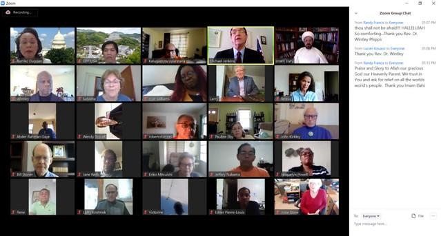 USA-2020-04-09-UPF-USA Initiates Weekly Online Interfaith Prayer Gathering