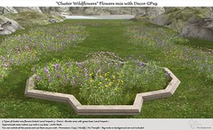 ".:Tm:.Creation ""Cluster Wildflowers"" Flowers mix with Decor GP29"
