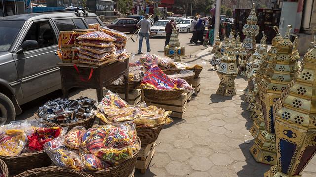 Egyptian Ramadan Lanterns andaccessories in Cairo