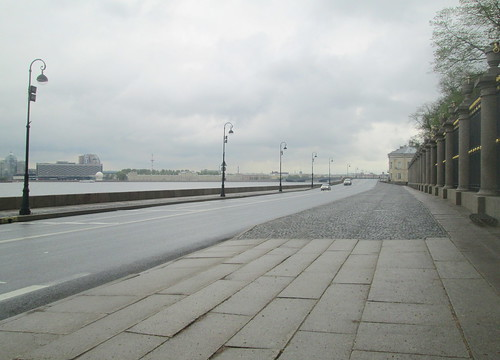 Boulevard by River Neva, St Petersburg