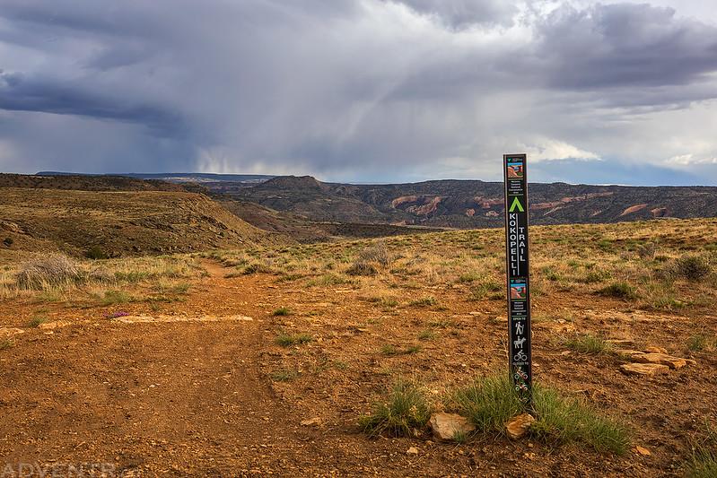 Kokopelli Trail Sign