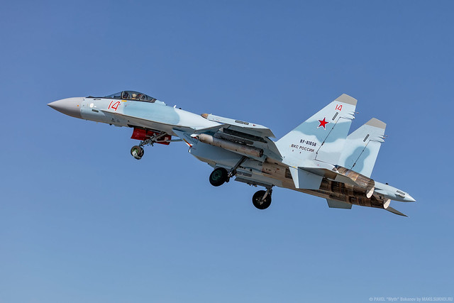 Su-35S Flanker-E of the Russian Air Force