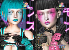 *Rainbow Sundae* Neon Hex and Cyber Dream for Aenigma