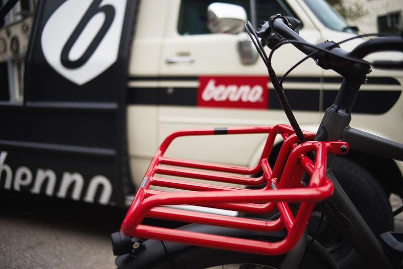 Benno Bikes eScout cargo ebike in Zurich 17