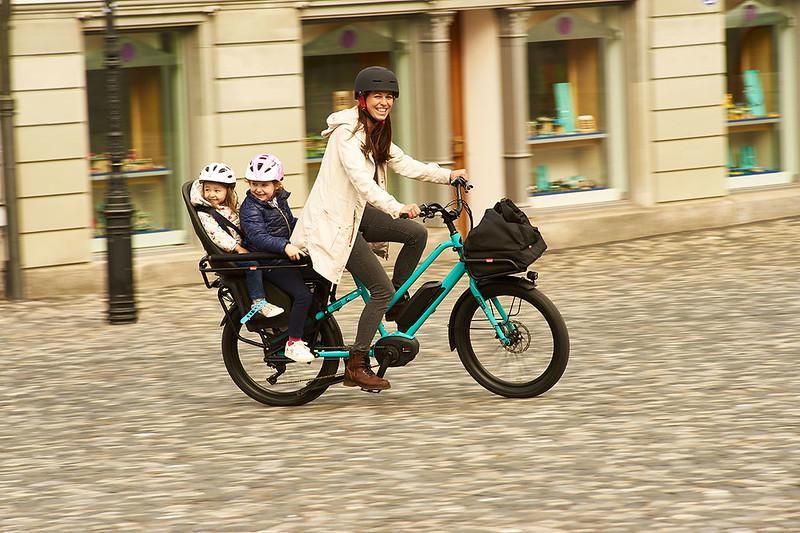 Benno Bikes Boost E cargo ebike in Zurich 06