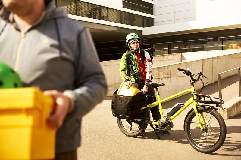 Benno Bikes Boost E cargo ebike in Zurich 03