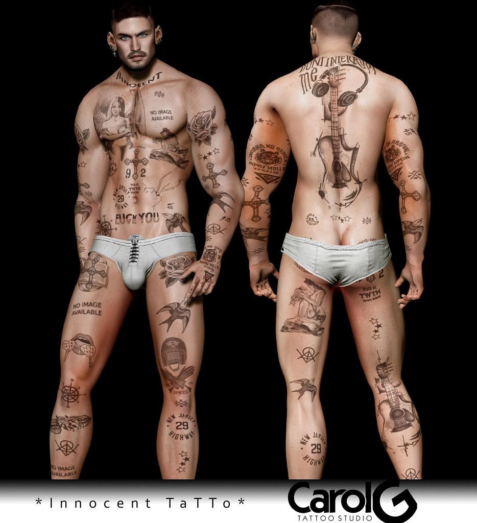 Innocent Male Tattoo [CAROL G]
