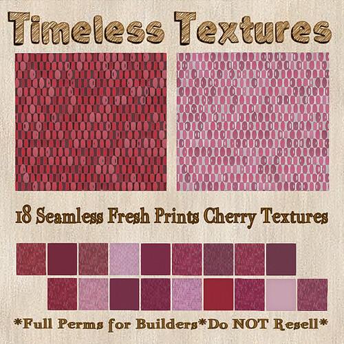 TT 18 Seamless Fresh Prints Cherry Timeless Textures