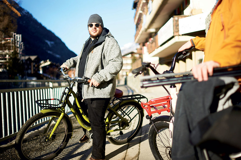 Benno Bikes Boost E and eJoy ebikes in Zermatt 12