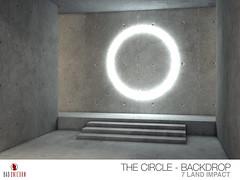NEW! Neon Nights - The Circle Backdrop