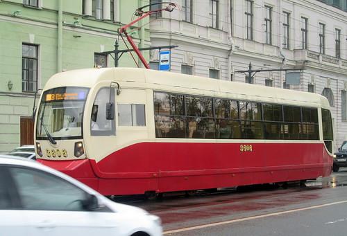 Old Tram, St Petersburg