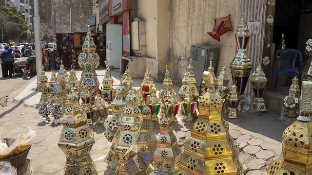 Egyptian Handmade Ramadan Lanterns for sale in Cairo